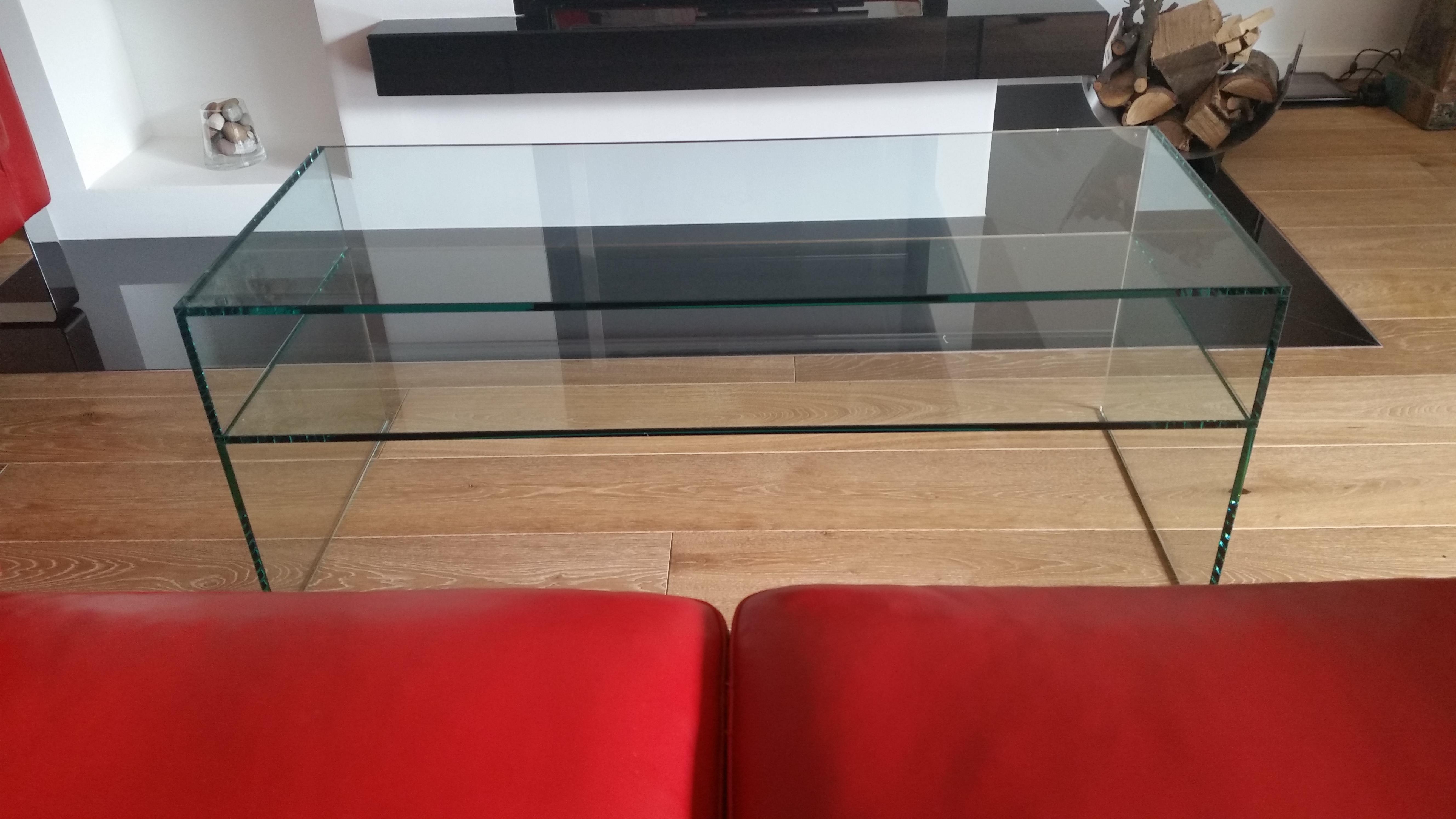 glastisch couchtisch basic paul snajdar glasm bel. Black Bedroom Furniture Sets. Home Design Ideas